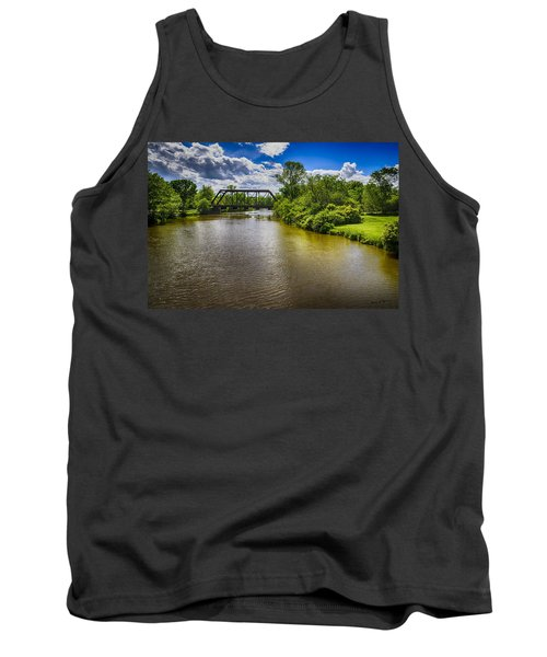 Tank Top featuring the photograph Royal River by Mark Myhaver