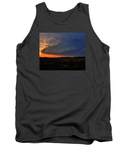 Tank Top featuring the photograph Rozel Tornado by Ed Sweeney