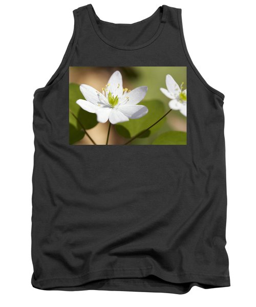 Rue Anemone Tank Top by Melinda Fawver