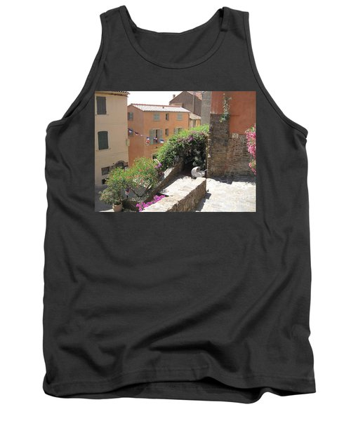 Tank Top featuring the photograph Rue De La Rose by HEVi FineArt