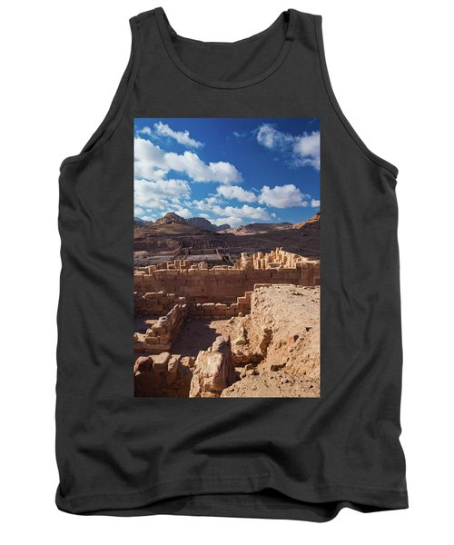 Ruins Of The Temple Of The Winged Lions Tank Top