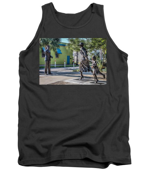 Running For The Train Tank Top