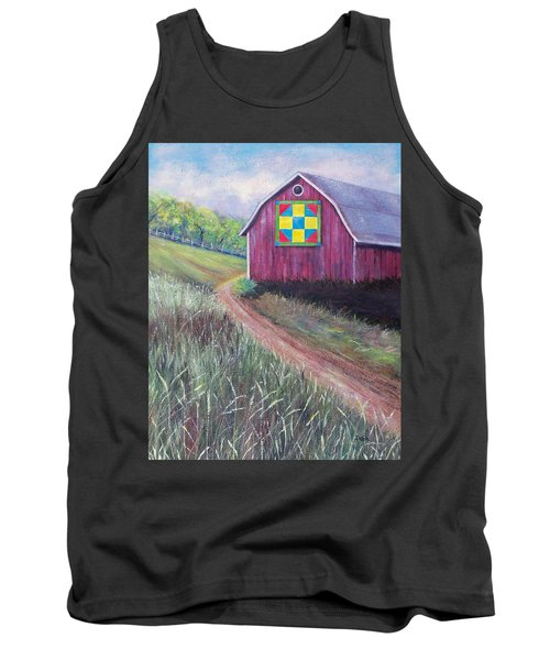 Tank Top featuring the painting Rural America's Gift by Susan DeLain