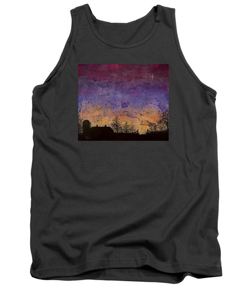 Rural Sunset Tank Top by Jack Malloch