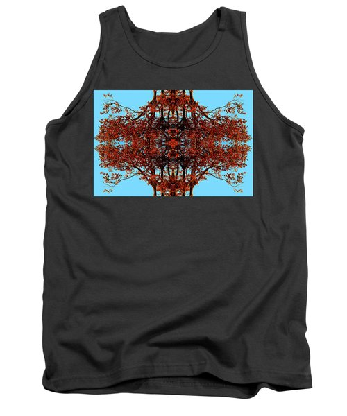Tank Top featuring the photograph Rust And Sky 3 - Abstract Art Photo by Marianne Dow