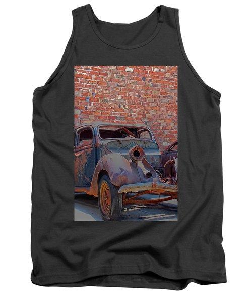Rust In Goodland Tank Top by Lynn Sprowl