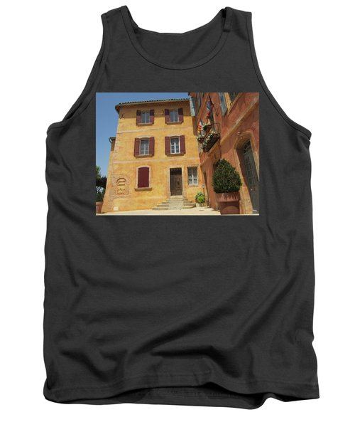 Tank Top featuring the photograph Rustic Charm by Pema Hou