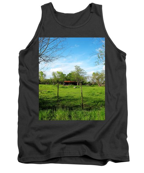 Rustic Land Of Beauty - Rural Texas Tank Top