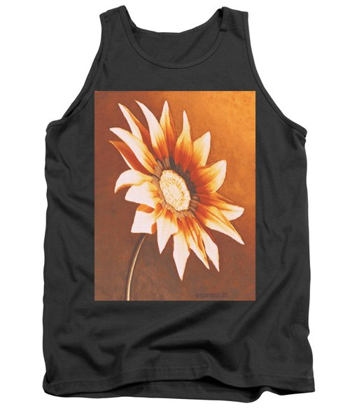 Rusty Gazania Tank Top
