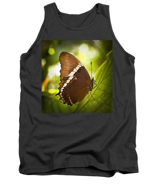 Rusty Tip Butterfly Tank Top by Bradley R Youngberg