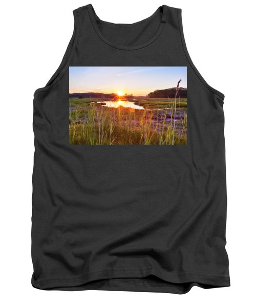 Rye Marsh Sunset Tank Top