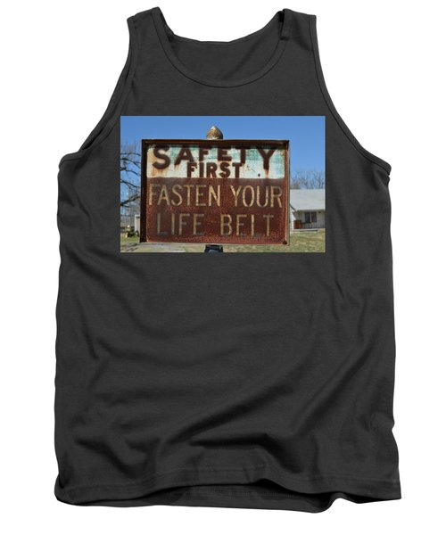 Safety First Tank Top