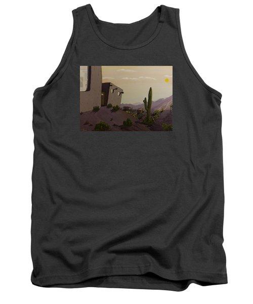 Saguaro Sunset Tank Top