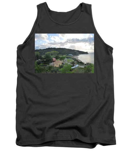 Tank Top featuring the photograph Saint Nicholas 1822 by George Katechis