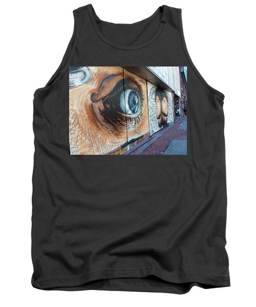 Tank Top featuring the photograph Salt Lake City - Mural 1 by Ely Arsha