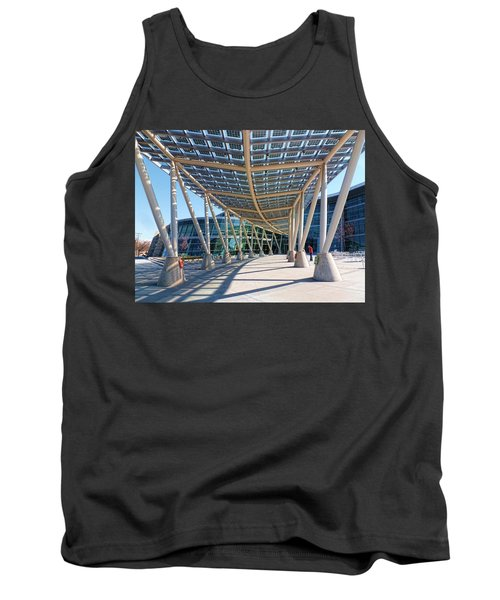 Tank Top featuring the photograph Salt Lake City Police Station - 2 by Ely Arsha