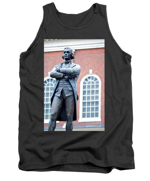 Samuel Adams Statue Massachusetts State House Tank Top