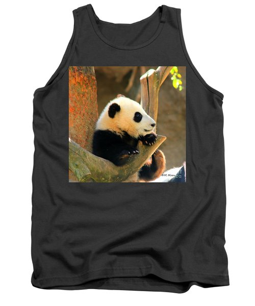 San Diego Zoo Panda Bear Xiao Liwu Tank Top