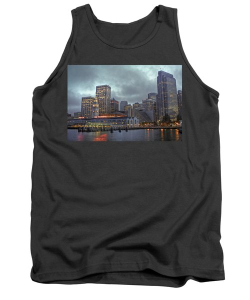 San Francisco Port All Lit Up Tank Top