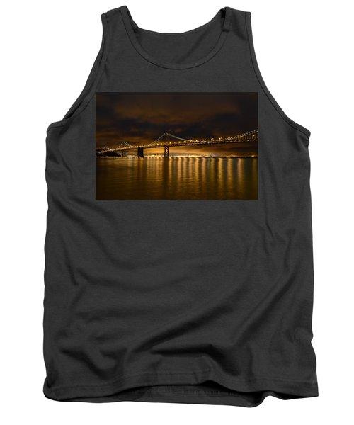 San Francisco - Bay Bridge At Night Tank Top