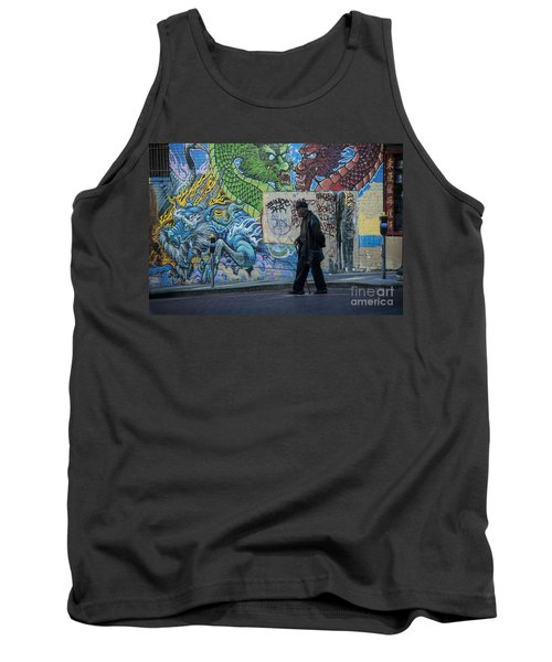San Francisco Chinatown Street Art Tank Top