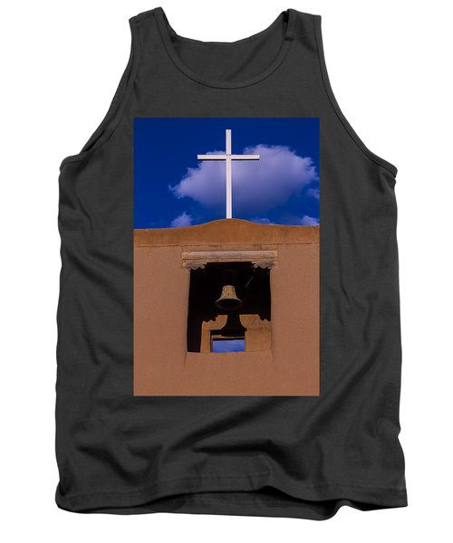 San Miguel Church Bell And Cross Tank Top