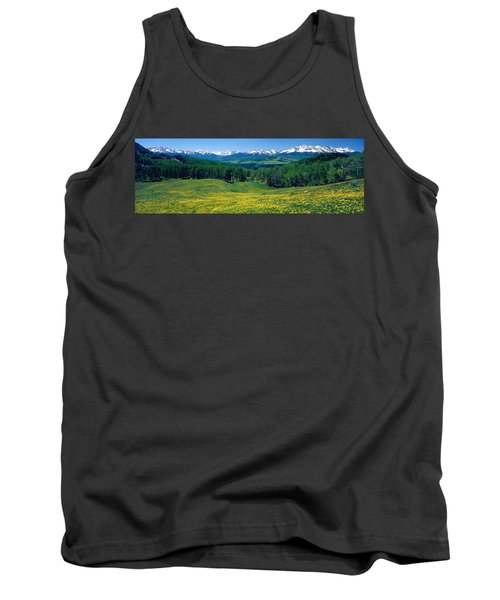 San Miguel Mountains In Spring Tank Top