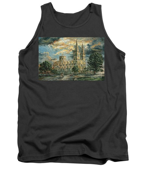 San Sebastian Church 1800s Tank Top by Joey Agbayani