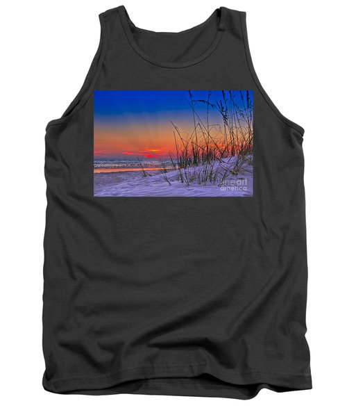 Sand And Sea Tank Top by Marvin Spates