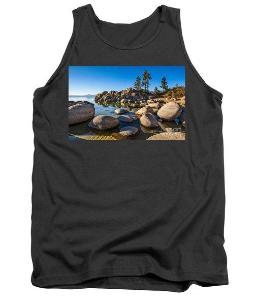 Sand Harbor Rock Garden Tank Top