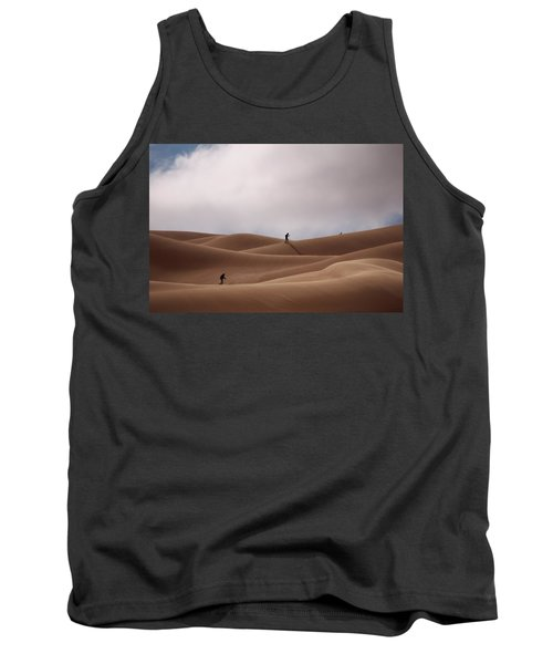 Sand Skiing Tank Top
