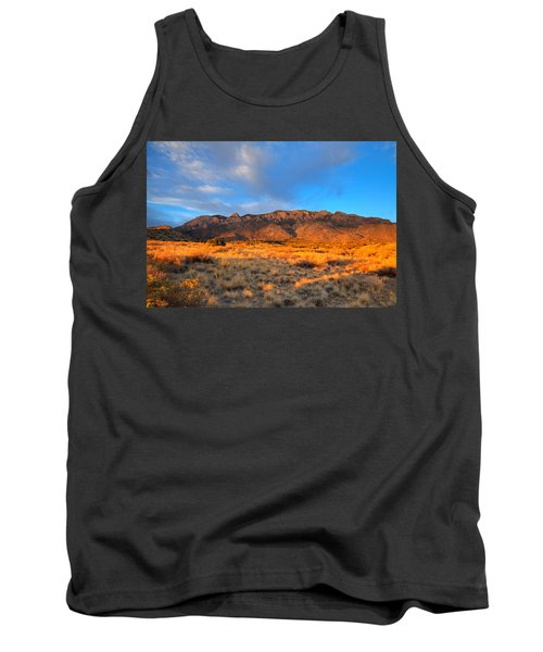 Sandia Crest Sunset Tank Top by Alan Vance Ley
