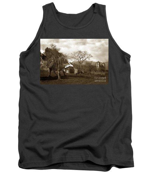 Santa Barbara Mission California Circa 1890 Tank Top
