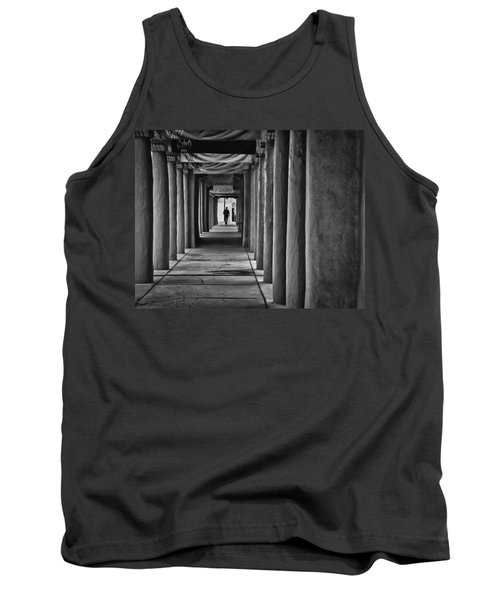 Tank Top featuring the photograph Santa Fe New Mexico Walkway by Ron White