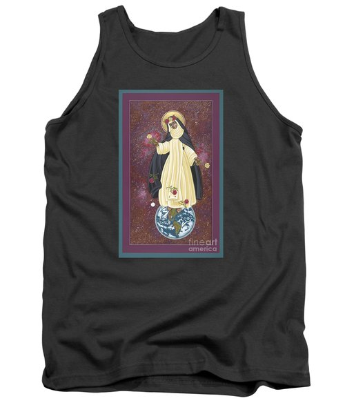 Santa Rosa Patroness Of The Americas 166 Tank Top by William Hart McNichols