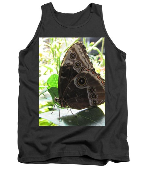 Scarce Morpho Tank Top