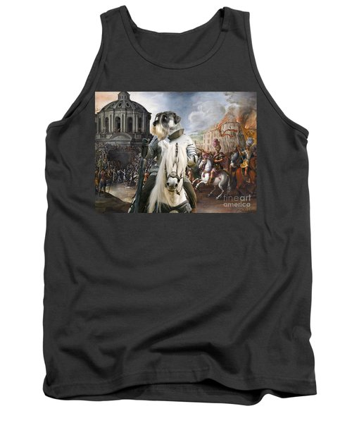 Schnauzer Art - A Siege The Sack Of Rome   Tank Top