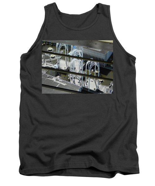 Science From The Top Tank Top by David Trotter