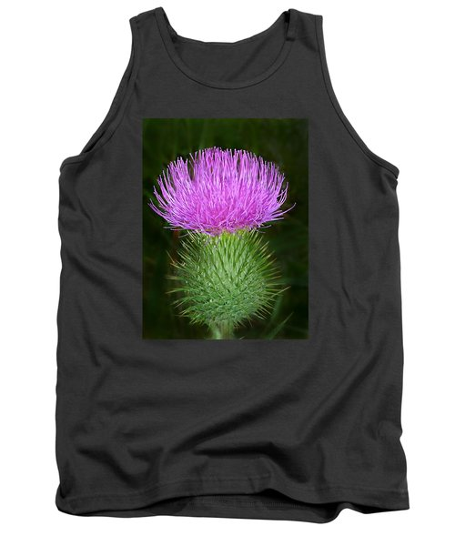 Scottish Thistle  Tank Top