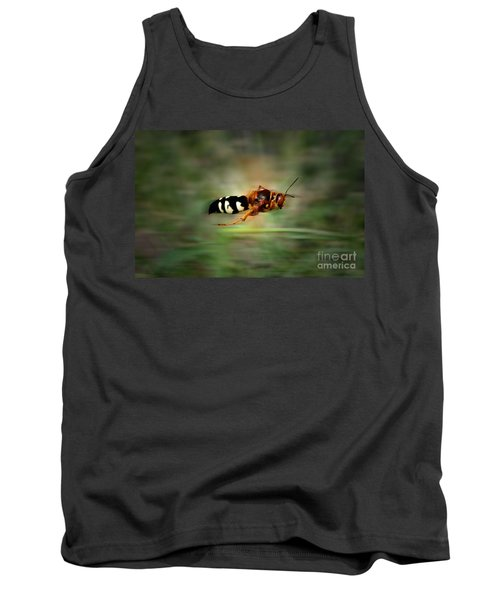 Tank Top featuring the photograph Scouting Mission by Thomas Woolworth