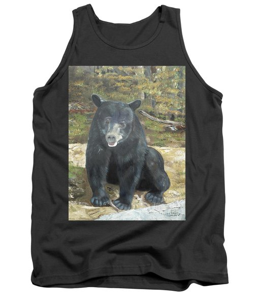 Tank Top featuring the painting Scruffy Again by Jan Dappen