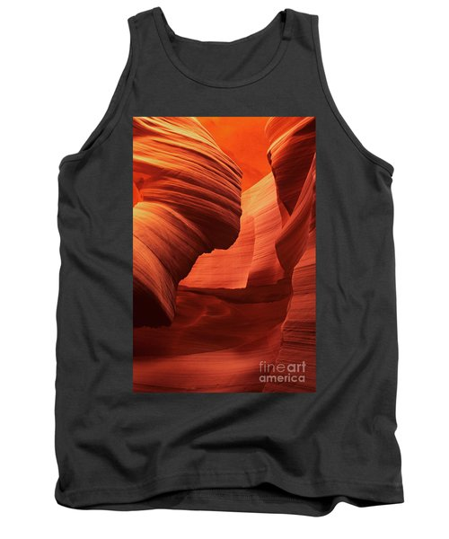 Tank Top featuring the photograph Sculpted Sandstone Upper Antelope Slot Canyon Arizona by Dave Welling