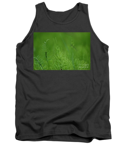 Tank Top featuring the photograph Sea Of Green by Bianca Nadeau