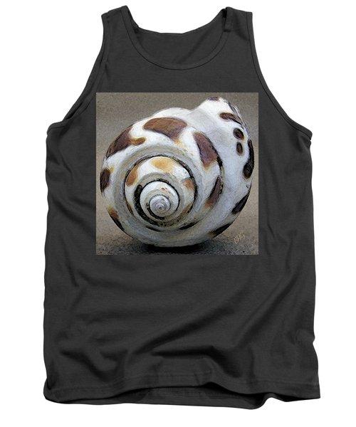 Seashells Spectacular No 2 Tank Top by Ben and Raisa Gertsberg