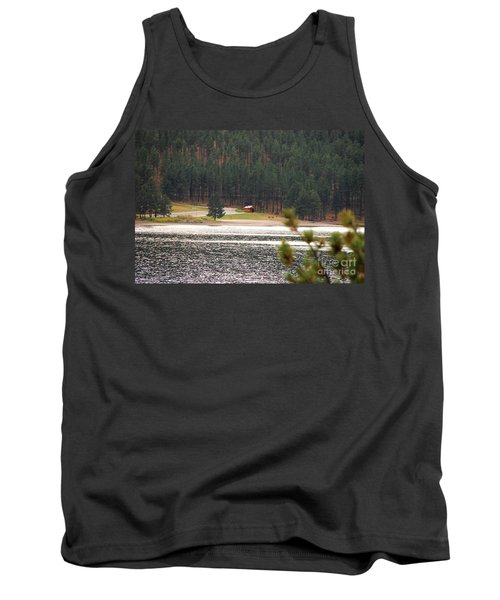 Secluded Cabin Tank Top by Mary Carol Story