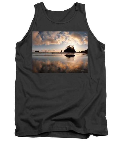 Second Beach Tank Top by Leland D Howard