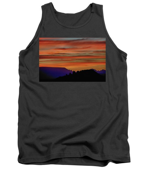 Sedona Az Sunset 2 Tank Top