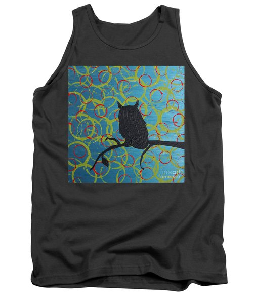 Tank Top featuring the painting Seer by Jacqueline McReynolds