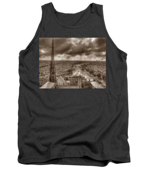 Seine From Notre Dame Tank Top
