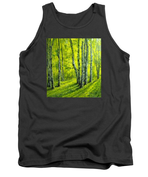 September In The Woods Tank Top